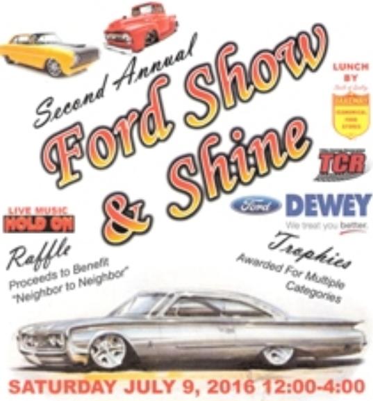 2016 Ford Show & Shine